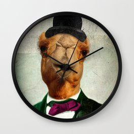 Humphrey's Night Out Wall Clock
