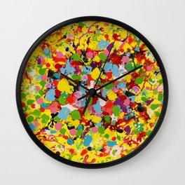 Bubblegum Bloom Wall Clock