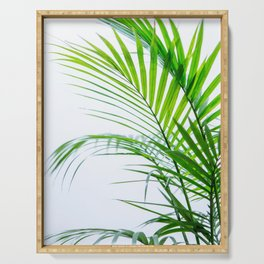 Palm leaves paradise Serving Tray