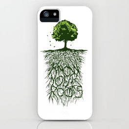 Know Your Roots Artwork iPhone Case