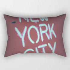 Vintage city Lights Rectangular Pillow