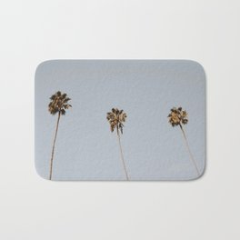 palm trees / san diego, california Bath Mat