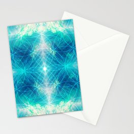 Hawaiian Oceanic Flower Of Life Stationery Cards