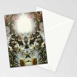 Mirrored Shasta Daisy Stationery Cards