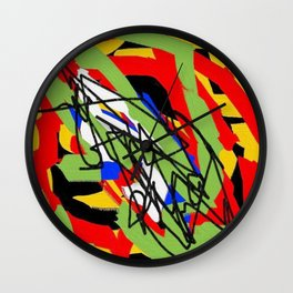 Color and color Wall Clock
