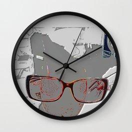 series drink - Sketch drink Wall Clock