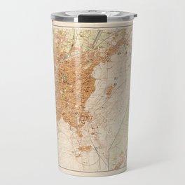 General Map of Cairo, Egypt (1920) Travel Mug