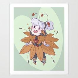 Sunflower Opal Art Print