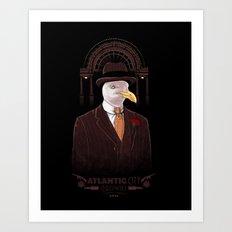 BIRDwalk Empire Art Print