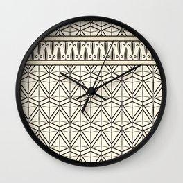 "Art Deco . ""Mirabelle "". Wall Clock"