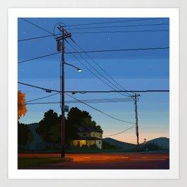 Outskirks Art Print