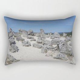 Stone forest Rectangular Pillow