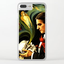 Thurston the Great Magician, the Wonder Show of the Universe. Do the Spirits Come Back? Clear iPhone Case
