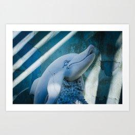 Da Nang Dolphin Art Print