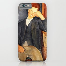 Amedeo Modigliani - The Young Apprentice - Digital Remastered Edition iPhone Case