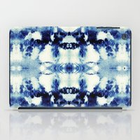 tie dye iPad Cases featuring Tie Dye Blues by Nina May Designs