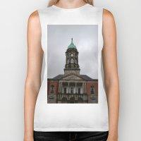 dublin Biker Tanks featuring Dublin Castel by Chalene Malekoff