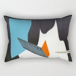 perseverare diabolicum Rectangular Pillow
