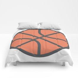 Basketball Icon Comforters