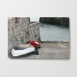 Dublin Boat Ramp Metal Print