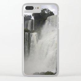 Iguazu Falls 2 Clear iPhone Case