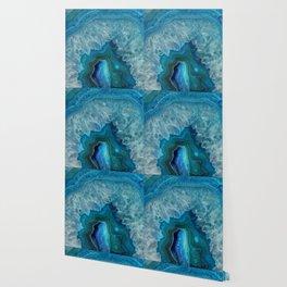 Agate Crystal Slice Wallpaper