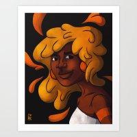 Hair #5 Art Print