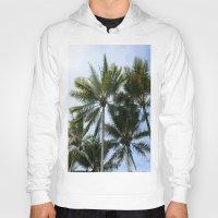 palms Hoodies featuring Palms by Brandon La'akea