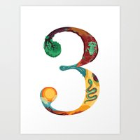 NeueFable 3 Art Print