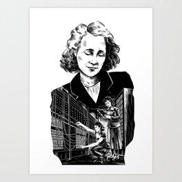 Kay McNulty by Szabolcs Kariko Art Print