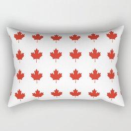 flag of canada 2,america,canadian,ottawa,toronto,Maple Leaf,l'Unifolié,montreal,erable,snow Rectangular Pillow