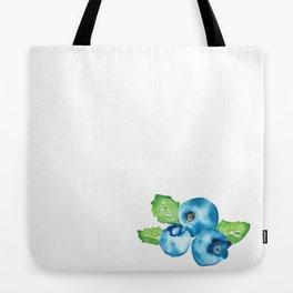 Watercolour Blueberry Tote Bag