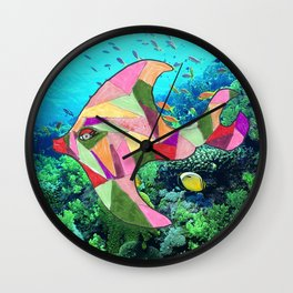Goldie the Fish Wall Clock