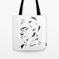 dc Tote Bags featuring DC by CHAN CHAK MAN, CK