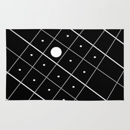 Spying Abstract Rug