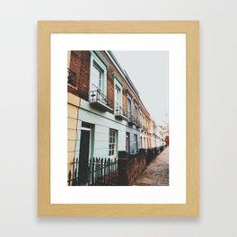 Gloomy Day In Camden Framed Art Print