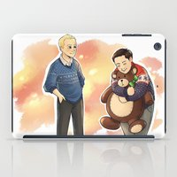 danny haas iPad Cases featuring Happy Christmas, Danny by Abbi Laura