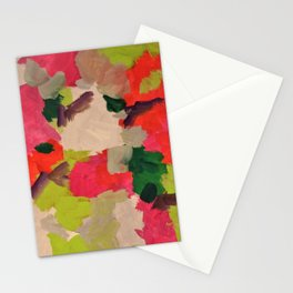 Abstract muse Stationery Cards