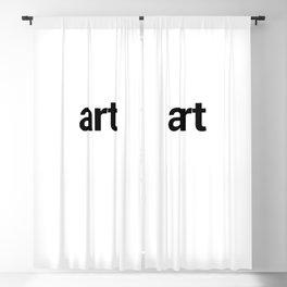 art Blackout Curtain