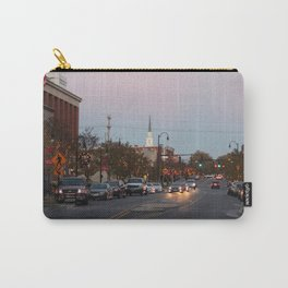 A City Christmas Carry-All Pouch
