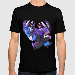 Loud jet and calm jet T-shirt