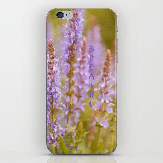 Purple Energy iPhone & iPod Skin