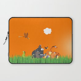 What's going on in the jungle? Kids collection Laptop Sleeve