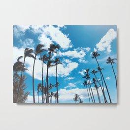 Kona Winds & Kailua Palms Metal Print
