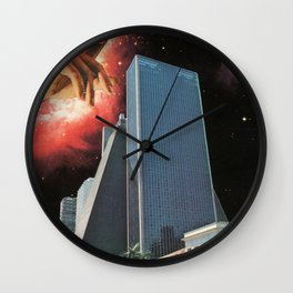 The Coming Of The Celestials Wall Clock