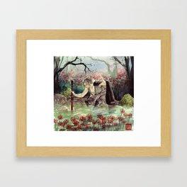 higanbana Framed Art Print