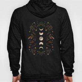 Moonlight Garden - Winter Brown Hoody