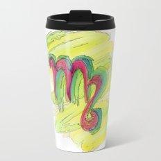 Virgo Flow Metal Travel Mug
