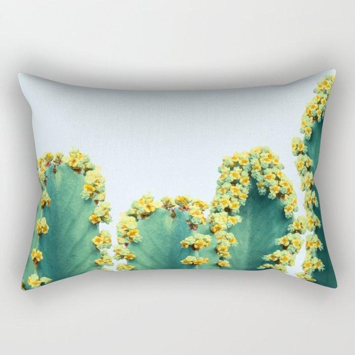 Adorned Cactus #society6 #artprints #buyart Rectangular Pillow