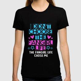 Kpop K-pop I Didnt Choose Fangirl Life Chose Me T-shirt